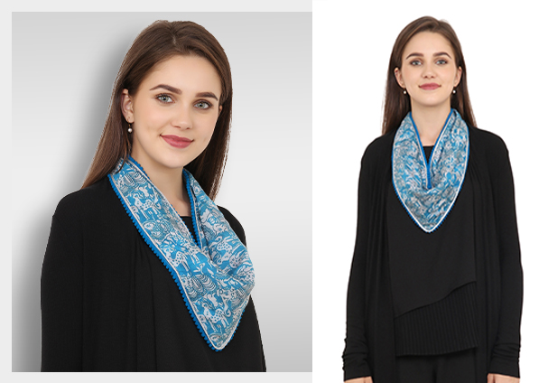 Are scarves important in women's fashion?